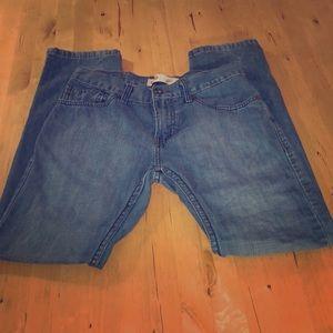 Levis 511, boys size 16, med blue denim. Like new!